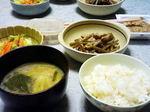 豚と根菜炒め
